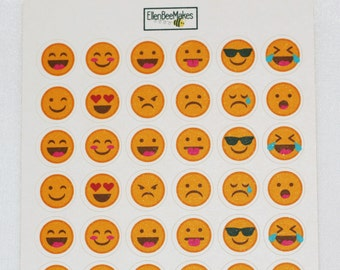 Emoji/Mood Tracker Stickers