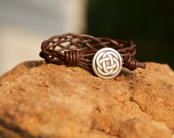 Mothers day, fathers day, graduation, Celtic Bracelet, Celtic Weave Bracelet, christimas gift ideas, gifts for him, gifts for her,