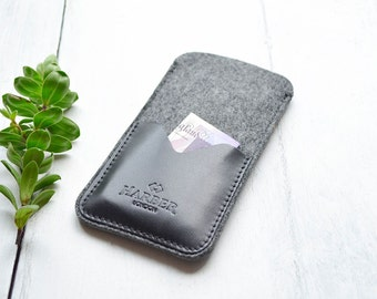 Slim iPhone 6 Leather Sleeve Wallet Case Cover