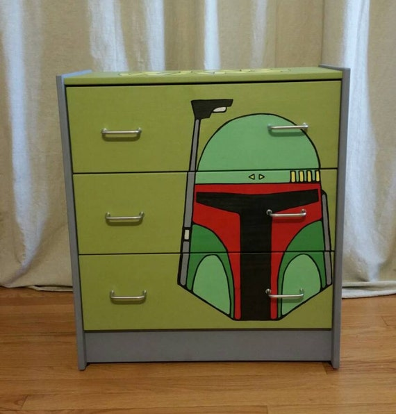 Items Similar To Star Wars Kids Dresser Toy Chest On Etsy