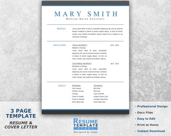 medical resume template word professional resume template for word resume cover letter template