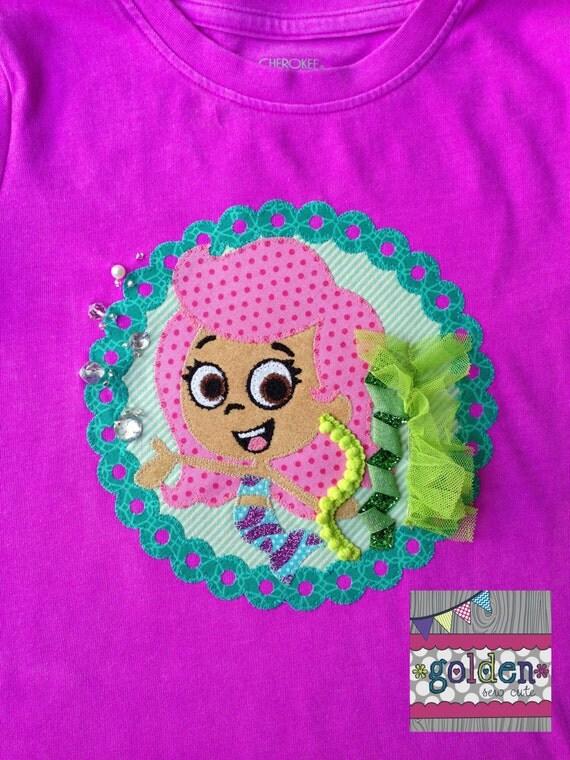 Bubble Guppies Molly Bubble Guppy Mermaid Tee