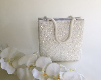 Bridal Sequined Purse