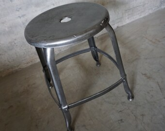 Industrial French Stool from Nicolle