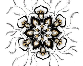 Sprouted Mandala