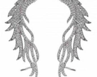 FENICE Sterling Silver Ear Cuff