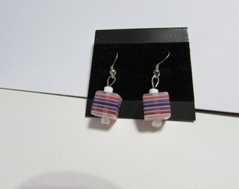 Cube Earrings (W)