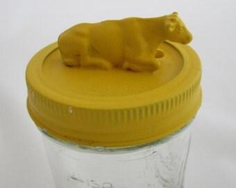 Yellow Cow Jar