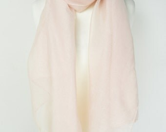Plain Nude Coloured Scarf/Wrap/Shawl/Cover Up/Sarong/Over Size