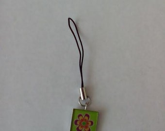 Flower Cell Phone Charm