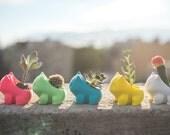 Dark Blue is Back In Stock!! Bulbasaur Inspired Planter, 3D printed, cute, best Gift, monster, geekery, Home & Garden