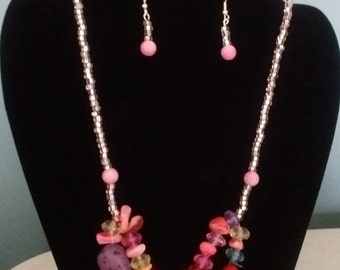 Versatile Necklace and Earrings