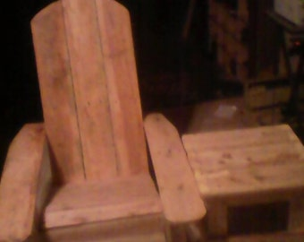 Child's Adirondack Chair/Table Set