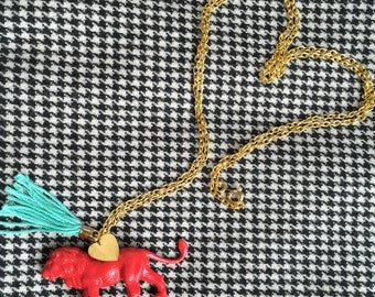 Simba the Lion Necklace