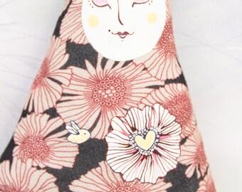 Manolìpo Flower Power / Textile toy /  Hand + Octopus