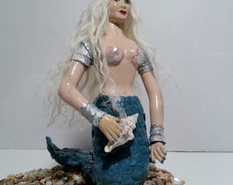 Miniature Mermaid Doll