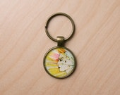 Change of Pace keychain - from original illustration