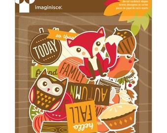Give Thanks Die-Cut Cardstock Ephemera 25/Pkg (400727)