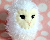 Barn Owl Amigurumi Soft Sculpture