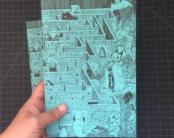 Maze Blank Sketchbook
