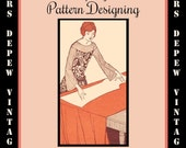 Rare Drafting and Designing by the Woman's Institute 1924 How to Draft Sewing Patterns E-book - INSTANT DOWNLOAD