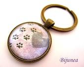 Dog keychain - Dog pet keychain - Animal dog pet keychain - Pet dog keychain k118
