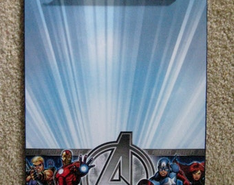 AVENGERS Altered Clipboard 9x12 Letter size