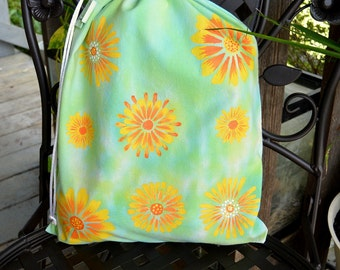 Large Drawstring Project Bag - Driving Miss Daisy
