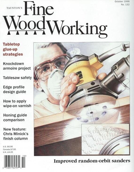 Taunton's Fine Woodworking October 1998 AA133 by DestashAvenue
