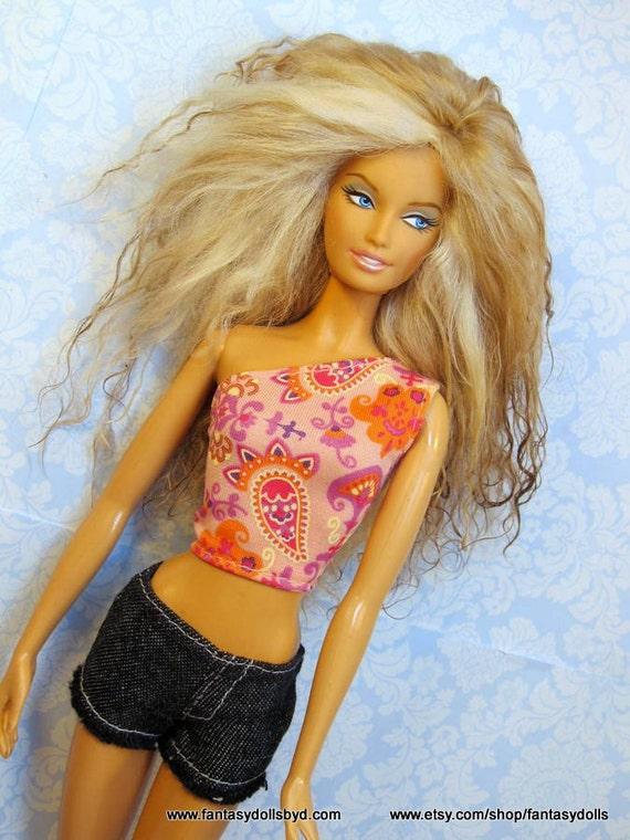 Barbie Dolls With Wigs 90