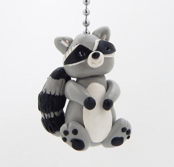 Raccoon Ceiling Fan Pull Chain Forest Nursery Children S