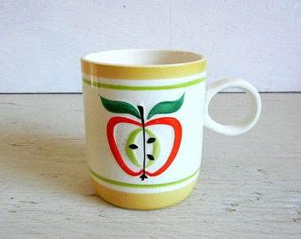 Holt Howard Apple Mug | Mid Century Modern Coffee Cup | © 1962