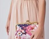 Floral Bridesmaid Clutch | Bridesmaid Gift Idea | Personalized Bridesmaid Gift | Bridal Shower Gift [Violetta Clutch]