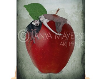 Fairytale Aceo Card - Snow White - Death By Apple