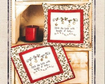 Blueberry Backroads - Deck The Halls 038 - Christmas hand embroidery pattern