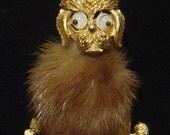 Vintage JJ Google Eye Poodle pin Jonette Jewelry Co