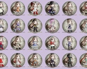 Bravely Default - Pin Back Buttons