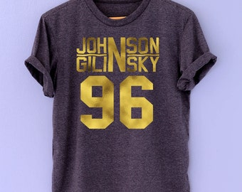 johnson and gilinsky Shirt Gold Font T-Shirt TShirt Tee Shirt Unisex jack and jack shirt - Size S M L XL XXL