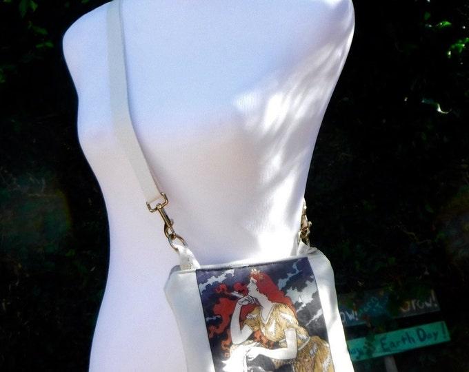 Les Maitres De L'affiche Poster - Cotton-linen Canvas cross body bag/purse hipster Custom Print