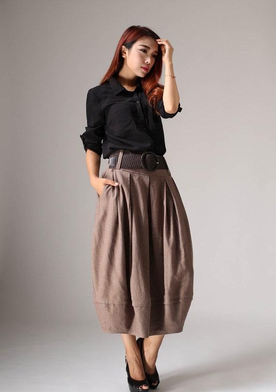 plus size skirt linen skirt midi skirt skirt maxi