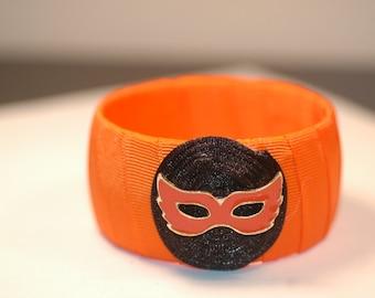 Halloween Charm Bracelet , Halloween Mask Charm Bracelet , Masquerade Party Charm Bracelet
