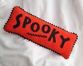 Halloween Pillow Primitive Spooky by Happy Valley Primitives