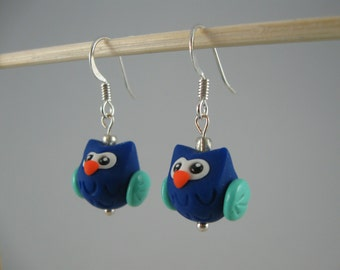 Chubby Owl Earrings