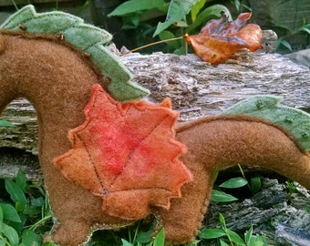 Waldorf Michaelmas Dragon - Turning Leaf, Ready To Ship