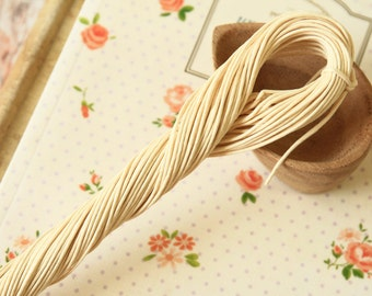 30m CREAM Paper Twist String