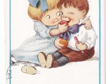 "Reinthal & Newman - ""Them That Has - Gits."" - Antique Postcard, Paper Ephemera, Children, Cartoon, Humor, Funny, Comical, Collectible Series"