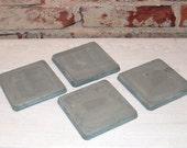 Set of 4 Concrete Coasters (Standard)