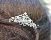 Wedding Hair comb, Bridal Hair Comb, Pearl and crystal comb,Crystal comb, rhinestone comb, Bridal Crystal hair comb, Victorian headpiece