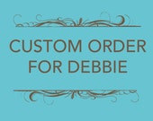 Custom Listing for Debbie - Two Snappy Tissue Cozies