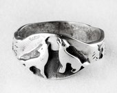 Howl at the Moon Sterling Silver Ring